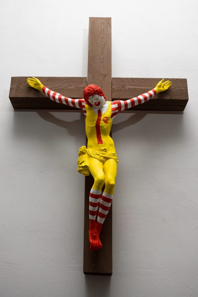 """""""מק'ישו"""", יצירה של האמן יאני לינולן, פינלנד."""